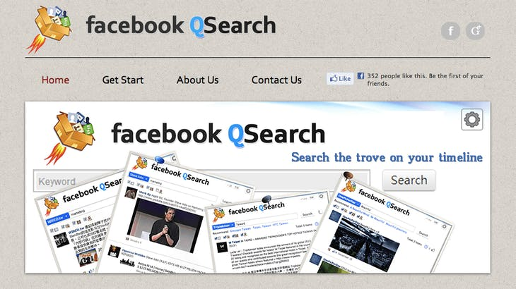 QSearch - Timeline Search Engine for Facebook 拷貝