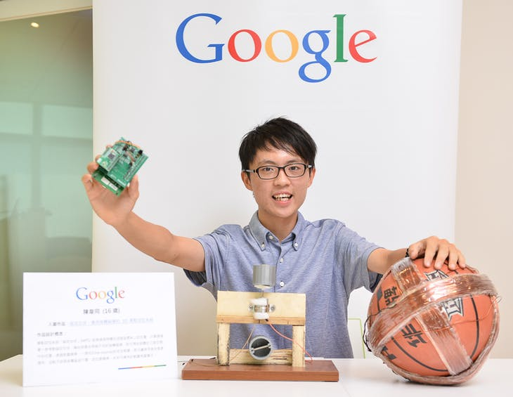 2015 google science fair MAGNETIC POSITIONING SPHERE