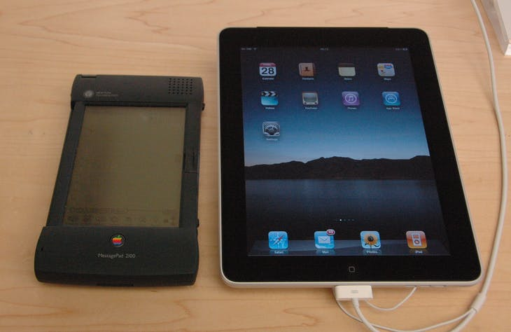 Newton and iPAd