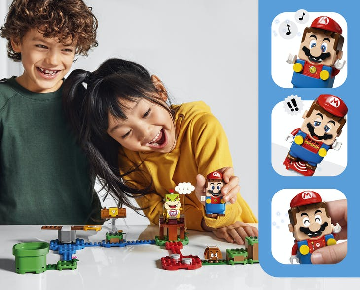 LEGO_Super_Mario_kids_and_interactions